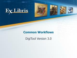 Common Workflows