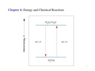 Chapter 6: Energy and Chemical Reactions
