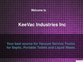 Vacuum Service Trucks
