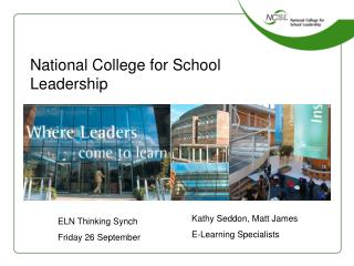 National College for School Leadership