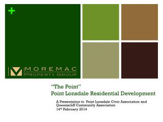 """The Point""  Point Lonsdale Residential Development"