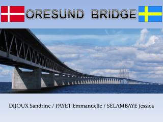 ORESUND  BRIDGE