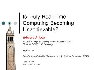 Is Truly Real-Time Computing Becoming Unachievable?