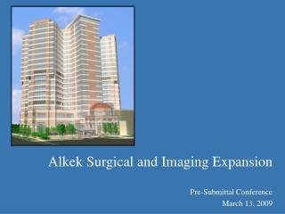 Alkek Surgical and Imaging Expansion
