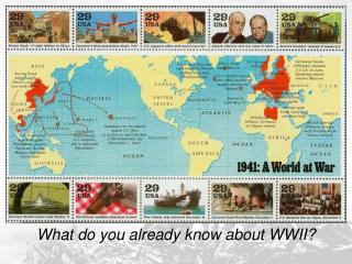 What do you already know about WWII?