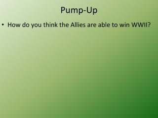 Pump-Up