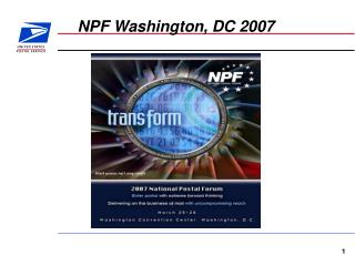 NPF Washington, DC 2007