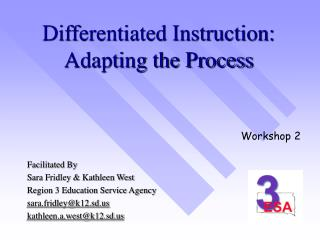 Differentiated Instruction: Adapting the Process