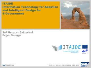 ITAIDE  Information Technology for Adoption and Intelligent Design for  E-Government