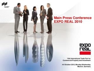 Main Press Conference                  EXPO REAL 2010