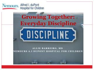 Growing Together: Everyday Discipline