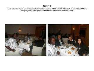 PHOTOS RENCONTRE EN TUNISIE 2011