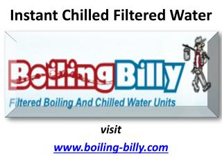 Get The Water You Want With Boiling Billy