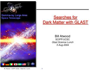 Searches for  Dark Matter with GLAST