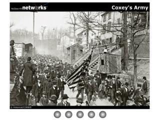 Coxey's Army Discussion