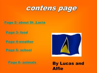 contens page