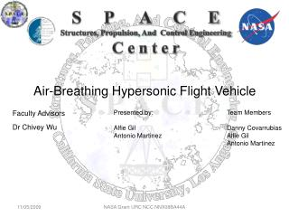 Air-Breathing Hypersonic Flight Vehicle
