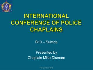International Conference of Police Chaplains