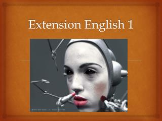Extension English 1