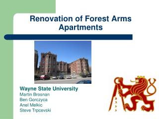 Renovation of Forest Arms Apartments