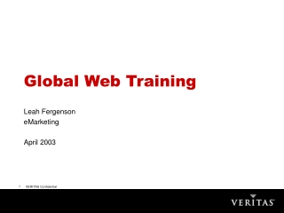 TRAIN-THE-TRAINER WEB PRESENTATION