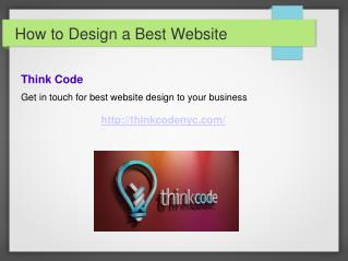 How to Design a Best Website