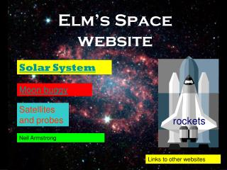Elm's Space website