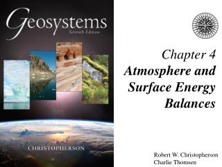 Chapter 4 Atmosphere and Surface Energy Balances