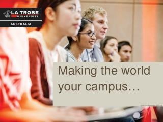 Making the world your campus…