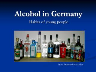Alcohol  in Germany