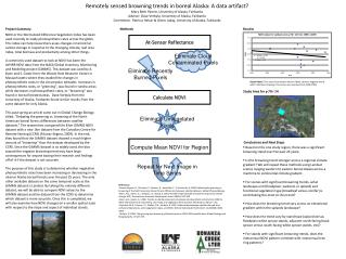 Remotely sensed browning trends in boreal Alaska: A data artifact?