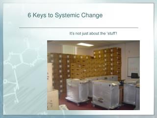 6 Keys to Systemic Change