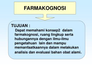 FARMAKOGNOSI