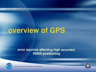overview of GPS