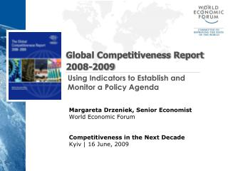 Global Competitiveness Report 2008-2009