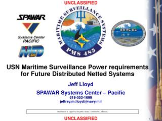 USN Maritime Surveillance Power requirements for Future Distributed Netted Systems