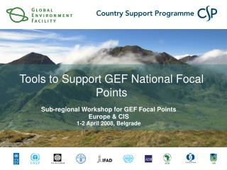 Tools to Support GEF National Focal Points
