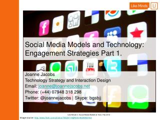 Social Media Models and Technology: Engagement Strategies Part 1.
