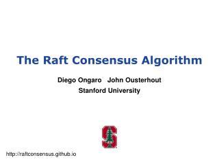 The Raft Consensus Algorithm