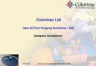 Colortrac Ltd (aka ACTion Imaging Solutions / AIS)
