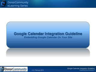 Google Calendar  Integration Guideline Embedding  Google Calendar  On Your Site