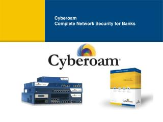 Cyberoam Complete Network Security for Banks