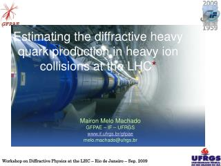 Estimating the diffractive heavy quark production in heavy ion collisions at the LHC *