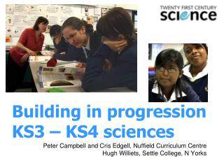 Building in progression KS3 – KS4 sciences