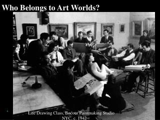 Who Belongs to Art Worlds?