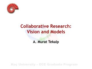 Collaborative Research:  Vision  and Models