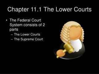 Chapter 11.1 The Lower Courts