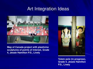 Art Integration Ideas