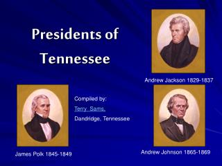 Presidents of  Tennessee