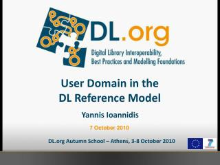 User Domain in the  DL Reference Model